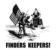 Finders Keepers Moon Landing by TheBestStore