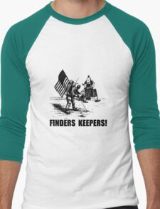 Finders Keepers Moon Landing Men's Baseball ¾ T-Shirt