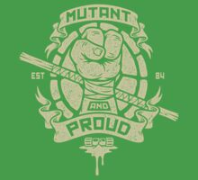 Mutant and Proud! (Donnie) Baby Tee