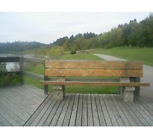 benches,parks Photographic Print