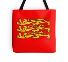 Royal Banner of England, Three Lions, 3 Lions, English, British, Britain, UK, RED Tote Bag