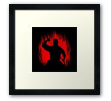 Ninja / Samurai Warrior Framed Print