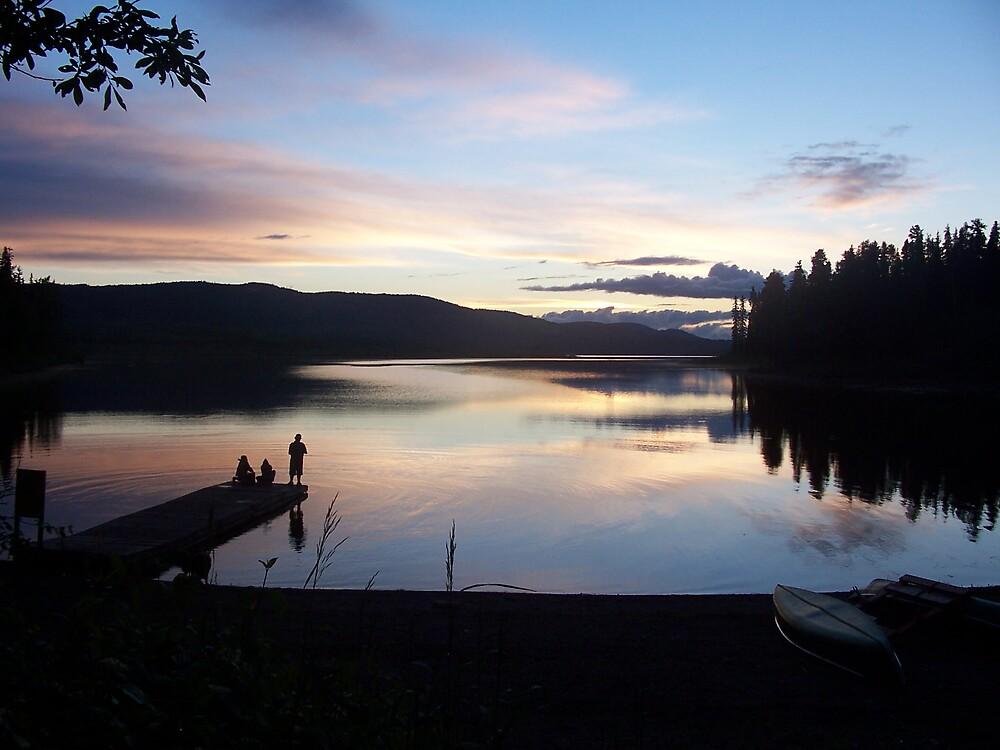 summer sunset by JeffJoker