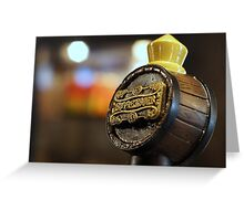 Butterbeer on Tap Greeting Card