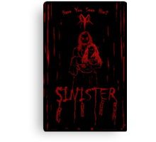 Sinister Canvas Print