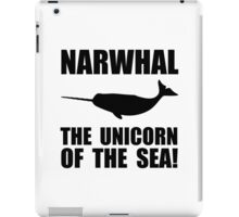 Narwhal Unicorn iPad Case/Skin