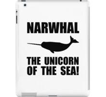 Narwhal Unicorn iPad Case/Skin