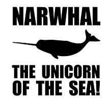 Narwhal Unicorn by TheBestStore
