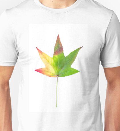 The colourful Sugargum leaf Unisex T-Shirt
