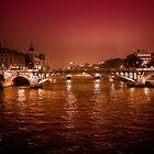Bridge over Seine by borjoz