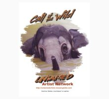 Call of the wild design 2: Bathtime by Leigh Rust