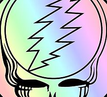 Grateful Dead Deadhead Cute by Budnick3000