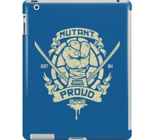 Mutant and Proud! (Leo) iPad Case/Skin