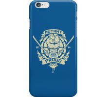 Mutant and Proud! (Leo) iPhone Case/Skin