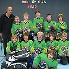 10 and Under team Winter 2007 season by Lilydale Rats Inline Hockey Club