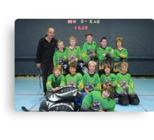 10 and Under team Winter 2007 season Canvas Print
