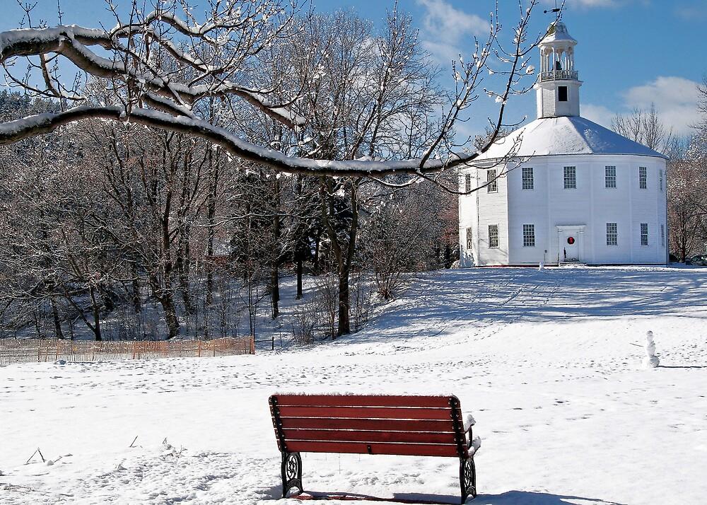 Richmond Round Church in the Snow by ScottSherman