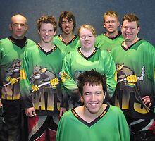 Senior B team Winter 2007 season by Lilydale Rats Inline Hockey Club