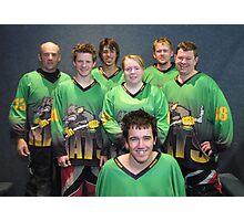 Senior B team Winter 2007 season Photographic Print