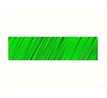 A blade of grass Art Print