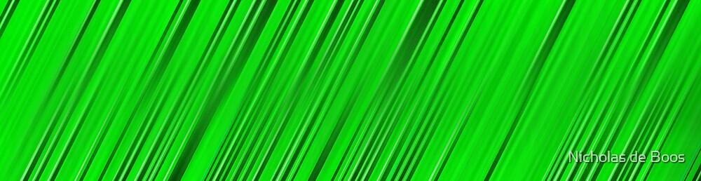 A blade of grass by Nick de Boos