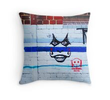 the joker Throw Pillow
