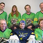 Senior C (Black) team Winter 2007 season by Lilydale Rats Inline Hockey Club