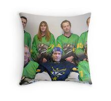 Senior C (Black) team Winter 2007 season Throw Pillow