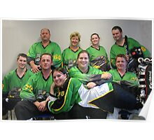 Senior C (Green) team Winter 2007 season Poster