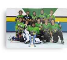 14 and Under team win Grand Final 2006 Metal Print