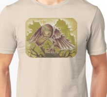 The Courier, Surreal Bird In Nature Unisex T-Shirt