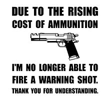 Ammunition Warning Shot by AmazingMart