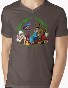 Regular Double Date Mens V-Neck T-Shirt