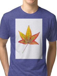 The colourful Sugargum leaf Tri-blend T-Shirt