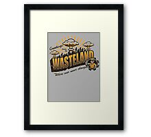 Greetings from the Wasteland! Framed Print