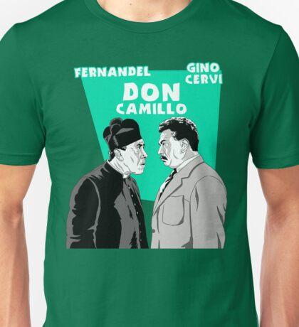 """ITALIAN CINEMA"" - DON CAMILLO Unisex T-Shirt"