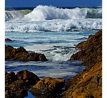 The sea at Narooma Photographic Print