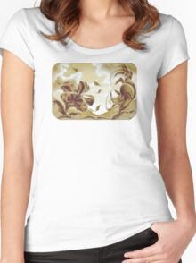 The Meeting, Surreal Nature Women's Fitted Scoop T-Shirt
