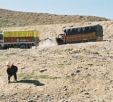 baby and trucks  by ali guida