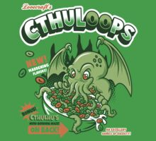 Cthuloops! All New Flavors! One Piece - Short Sleeve