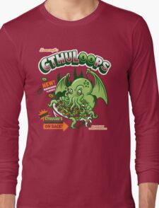 Cthuloops! All New Flavors! Long Sleeve T-Shirt