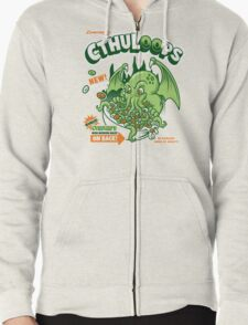 Cthuloops! All New Flavors! Zipped Hoodie