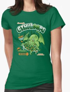 Cthuloops! All New Flavors! Womens Fitted T-Shirt