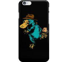Undercover Monotreme iPhone Case/Skin