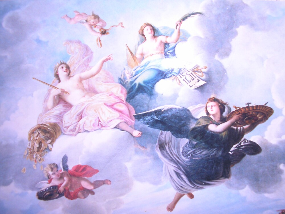 Versaille Ceiling by Maddie