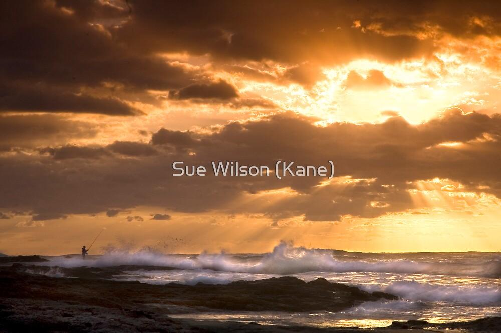 Shining upon him by Sue Wilson (Kane)
