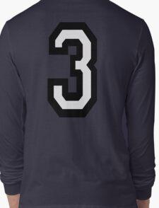 3, TEAM SPORTS, NUMBER 3, THREE, THIRD, Competition, Tri,  Triple T-Shirt