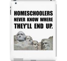 Homeschool Rushmore iPad Case/Skin