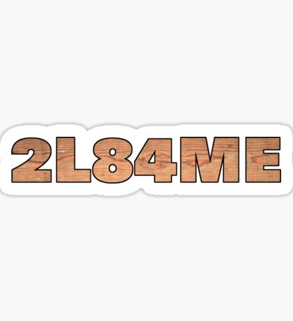 Melee Barrel Sticker