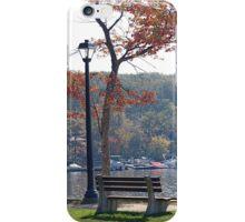 Quiet Retreat in the Fall iPhone Case/Skin